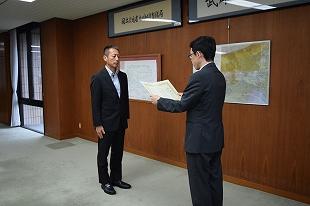 熊本地震の災害復旧支援活動に感謝状贈呈