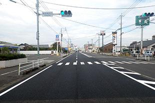 国道208号道路整備交付金工事(舗装補修工)